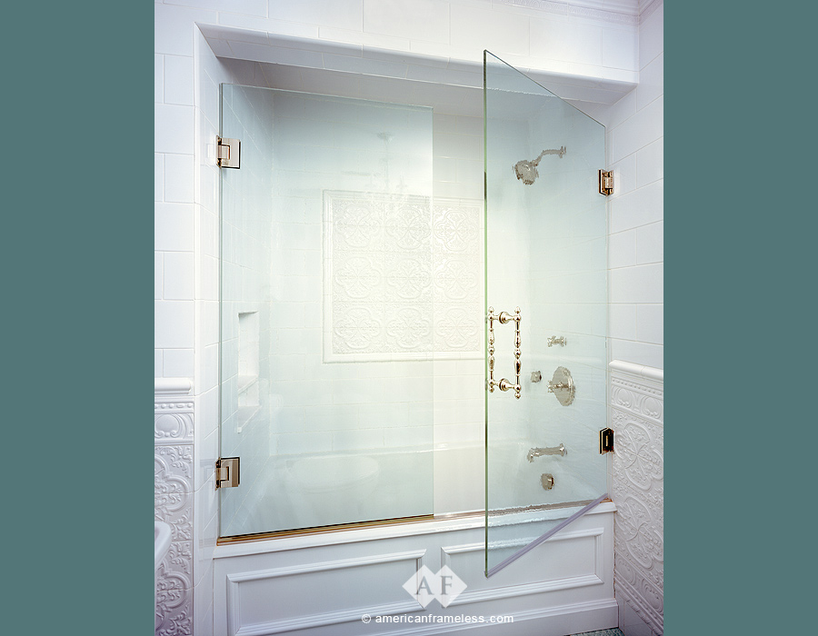 Bathtub Glass Doors - American Frameless 1-800-606-1776